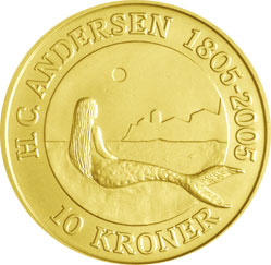 Mermaid Gold Coin