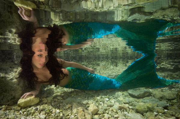 Mermaid Water Reflection