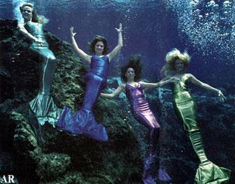 shiny color mermaids mermaid model