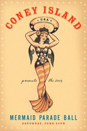 Mermaid Parade Invitation