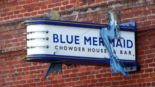 Blue Mermaid Chowder Bar