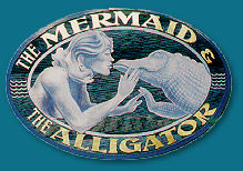 Mermaid and Alligator