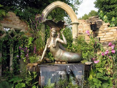 Mermaid Statue Gallery   Mermaid Garden Fountain