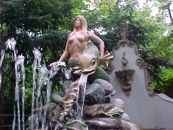 Mermaid garden and fish Mermaid Statues Mermaid Statues from