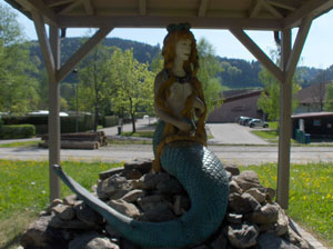 Mermaid under Gazebo
